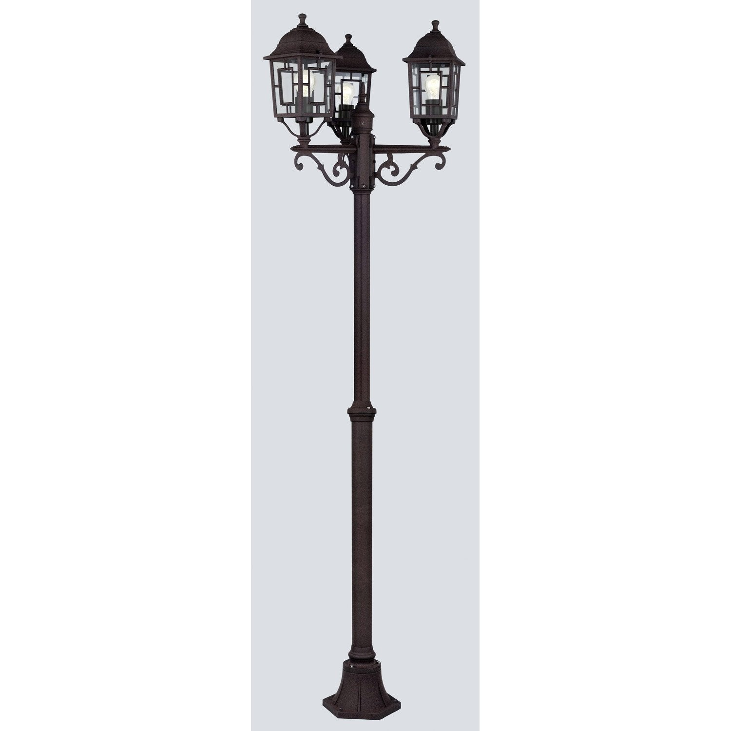 Lampadaire terrasse exterieur inox fashion designs for Lampadaire interieur
