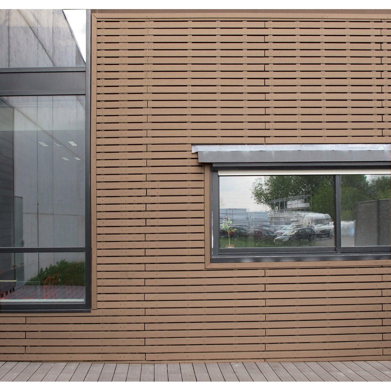 Bardage bois, PVC, composite | Leroy Merlin