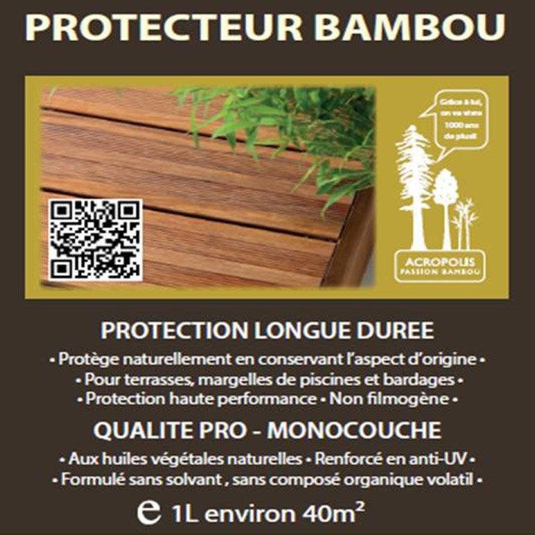 protecteur bambou leroy merlin. Black Bedroom Furniture Sets. Home Design Ideas