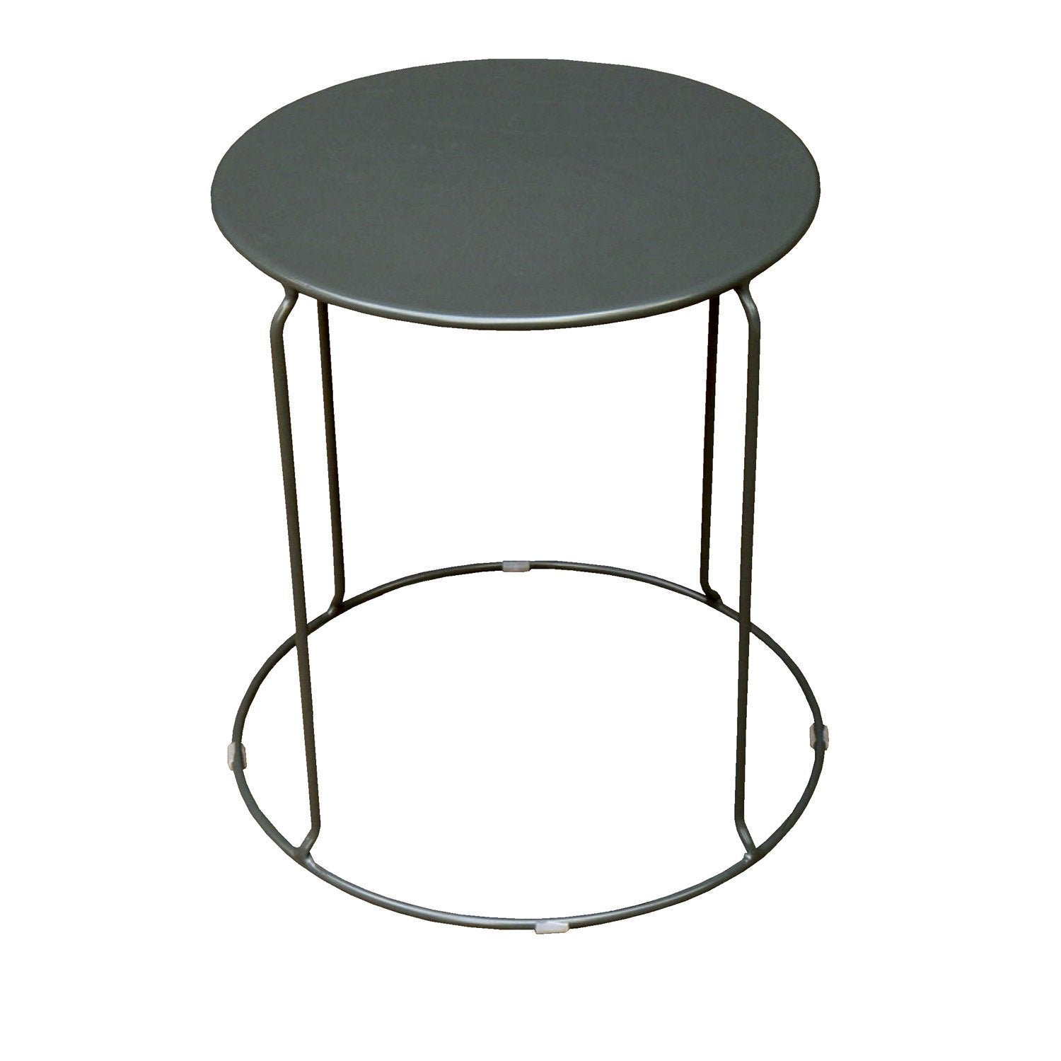 Table basse aix ronde anthracite 2 personnes leroy merlin - Bassin fontaine leroy merlin aixen provence ...