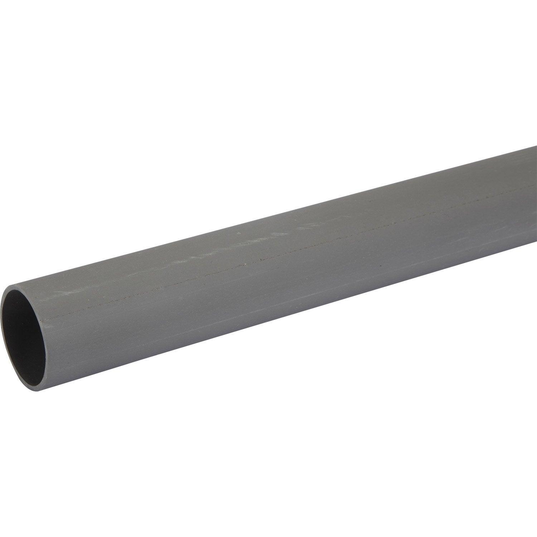 tube d 39 vacuation pvc de diam tre 40 mm long 1 m leroy merlin. Black Bedroom Furniture Sets. Home Design Ideas