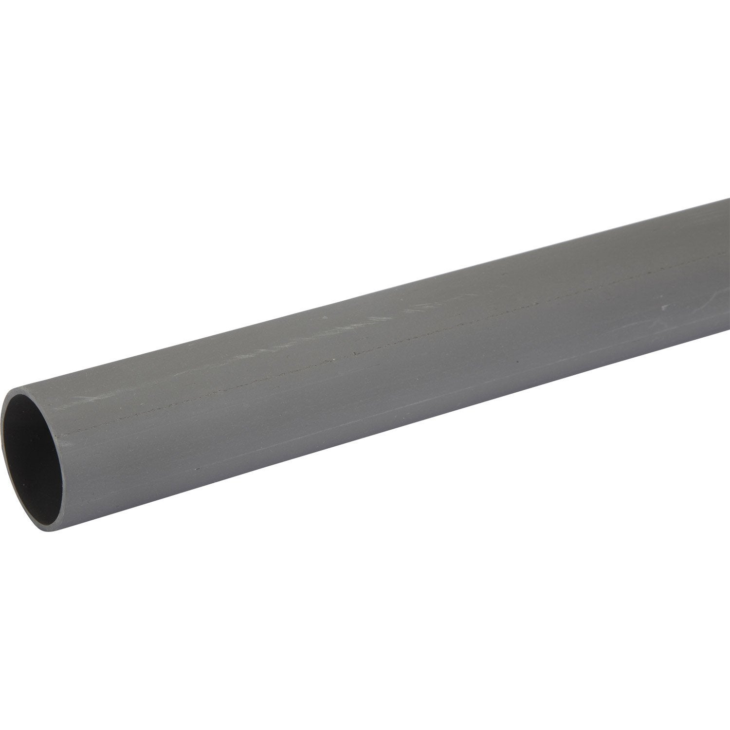 Tube d 39 vacuation pvc mm l 4 m leroy merlin for Portail bricorama