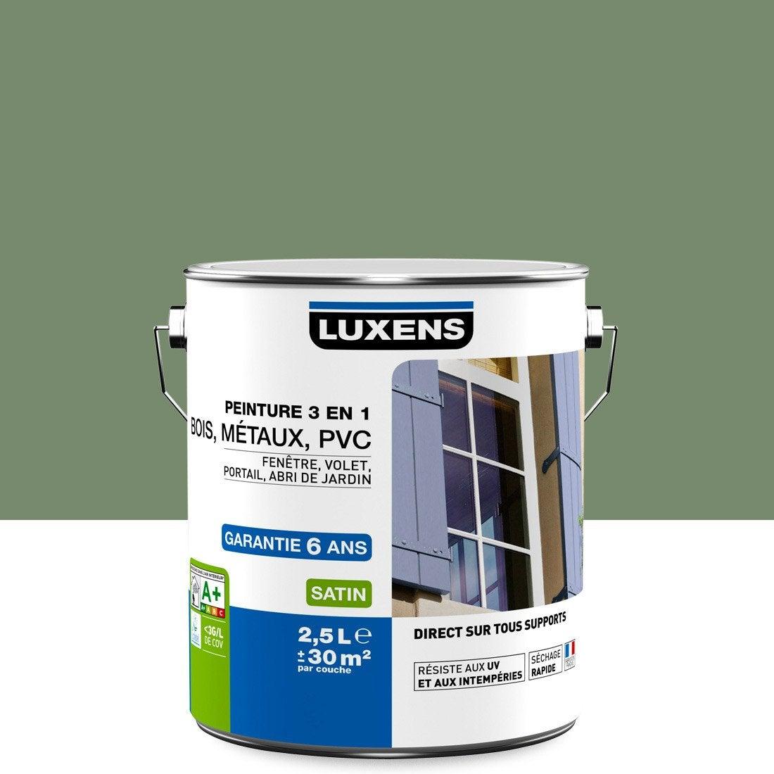 Affordable Peinture Extrieur En Luxens Vert Olivier L Leroy Merlin With Peinture  Acrylique Pour Mur Exterieur