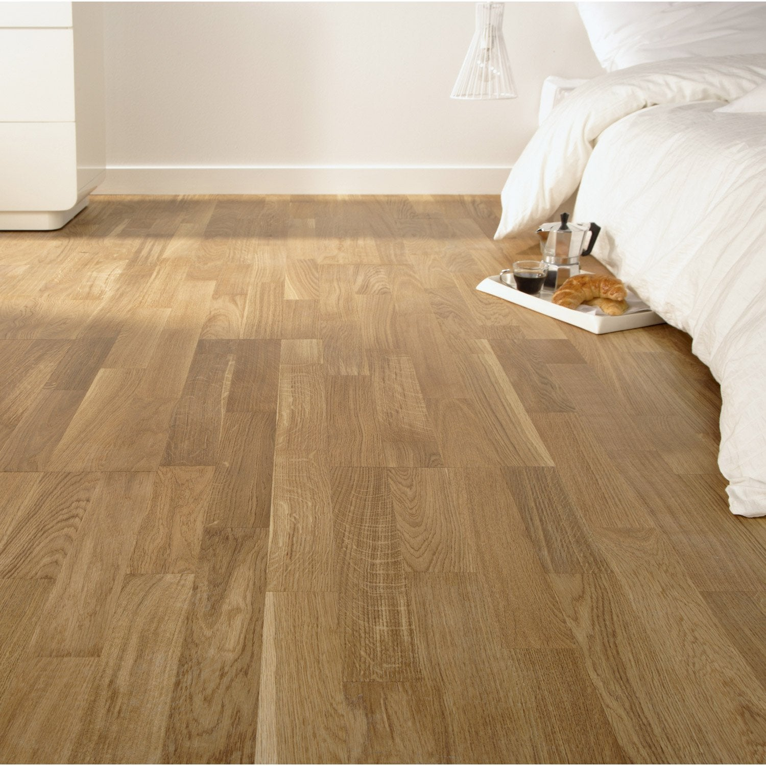 pose d39un parquet flottant ou stratifie jusqu39a 10 m2 par With pose parquet flottant leroy merlin video