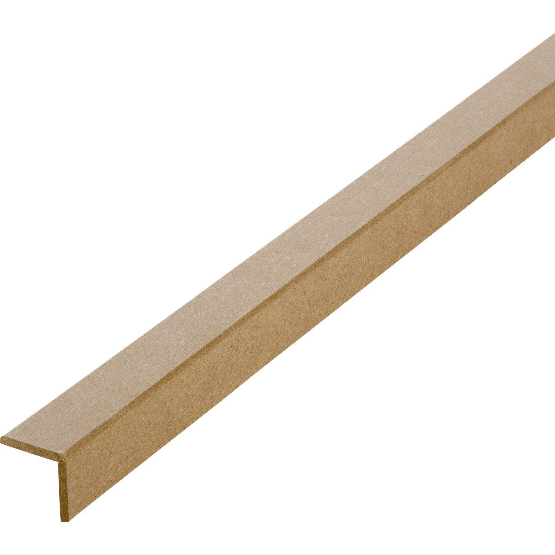 baguette d angle medium mdf 2 44m 37 x 37. Black Bedroom Furniture Sets. Home Design Ideas