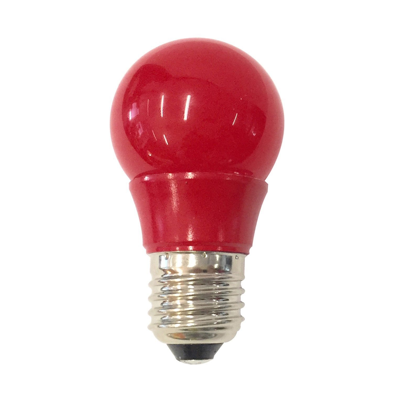 Ampoule sph rique led 2 5w 250lm e27 rouge lexman - Ampoule de couleur castorama ...