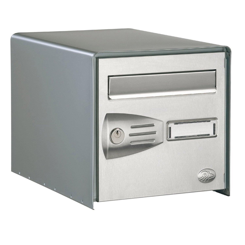Boîte aux lettres 2 portes DECAYEUX Littoral en inox