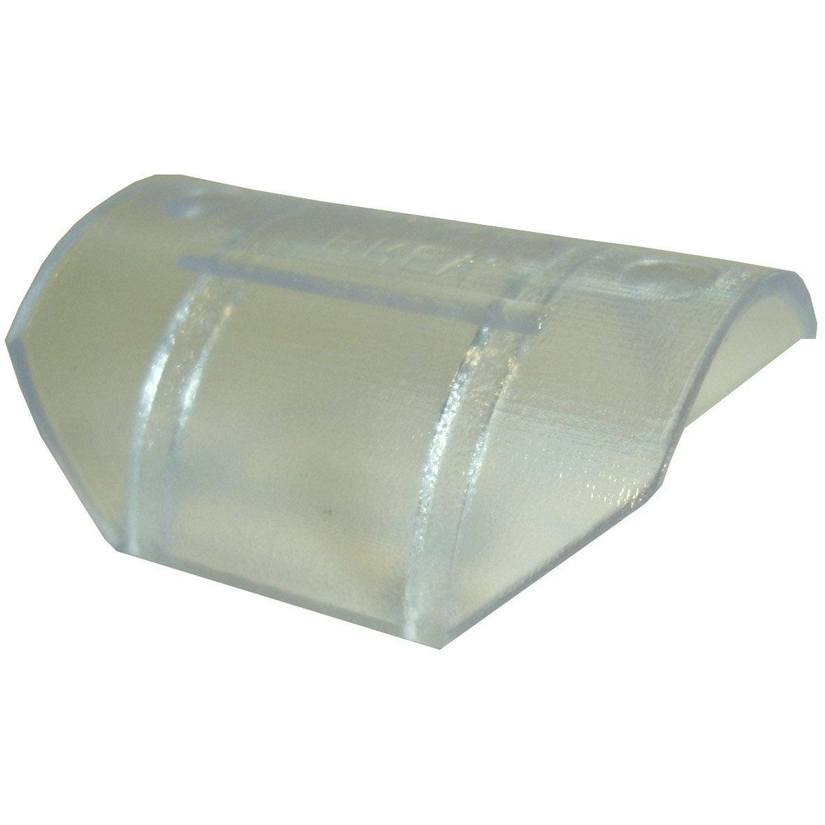 glisseurs tringle rideau design 28 mm plastique transparent leroy merlin. Black Bedroom Furniture Sets. Home Design Ideas