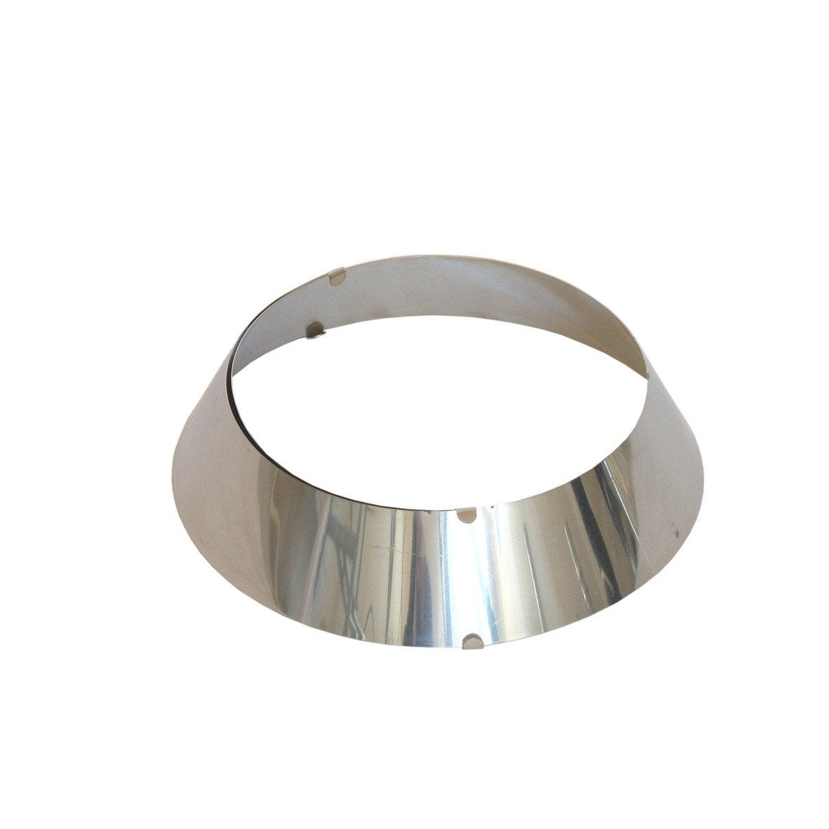 Rosace r glable en inox 153 200 mm leroy merlin for Rosace sol exterieur