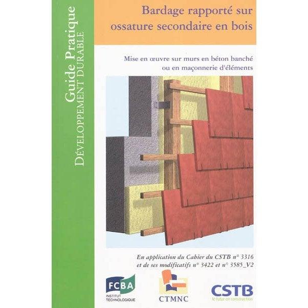 Bardage rapport sur ossature secondaire en bois cstb for Ossature bois leroy merlin