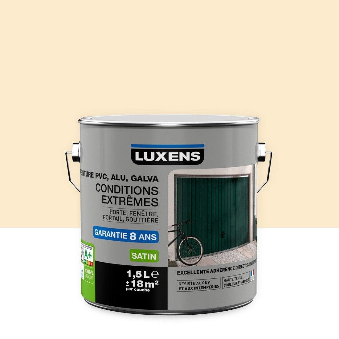 Peinture pvc alu galva ext rieur conditions extr mes for Peinture fenetre pvc