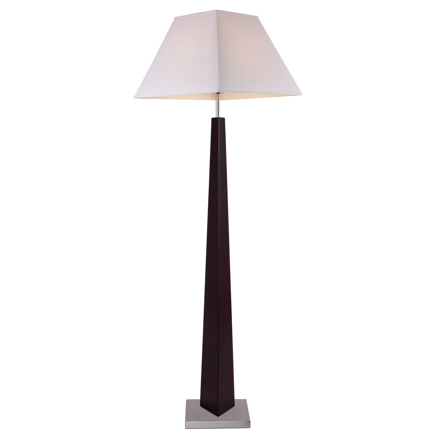 lampadaire era 162 cm blanc 60 w leroy merlin. Black Bedroom Furniture Sets. Home Design Ideas