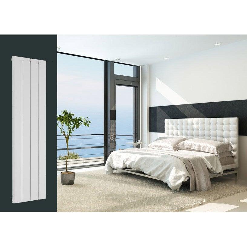 radiateur chauffage central leggero blanc mat cm. Black Bedroom Furniture Sets. Home Design Ideas