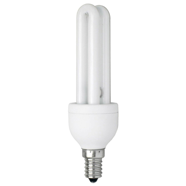 Ampoule tube fluorescente 13w 664lm quiv 55w e14 - Ampoule lumiere noire leroy merlin ...
