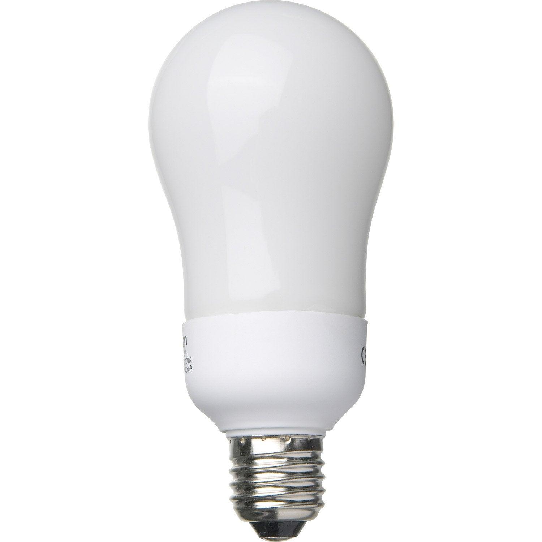 Ampoule Standard Conomie D 39 Nergie 18w Lexman E 27 Lumi Re Chaude Env 2700k Leroy Merlin