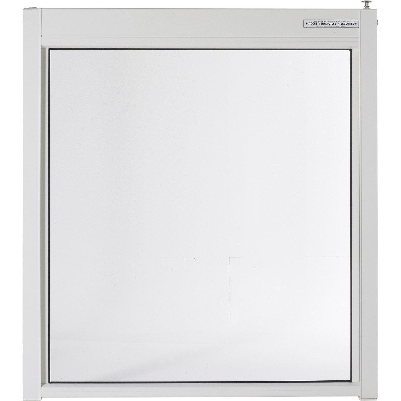 Portillon esterel en aluminium haut 120 x larg 107 cm for Fartools rex 120 leroy merlin