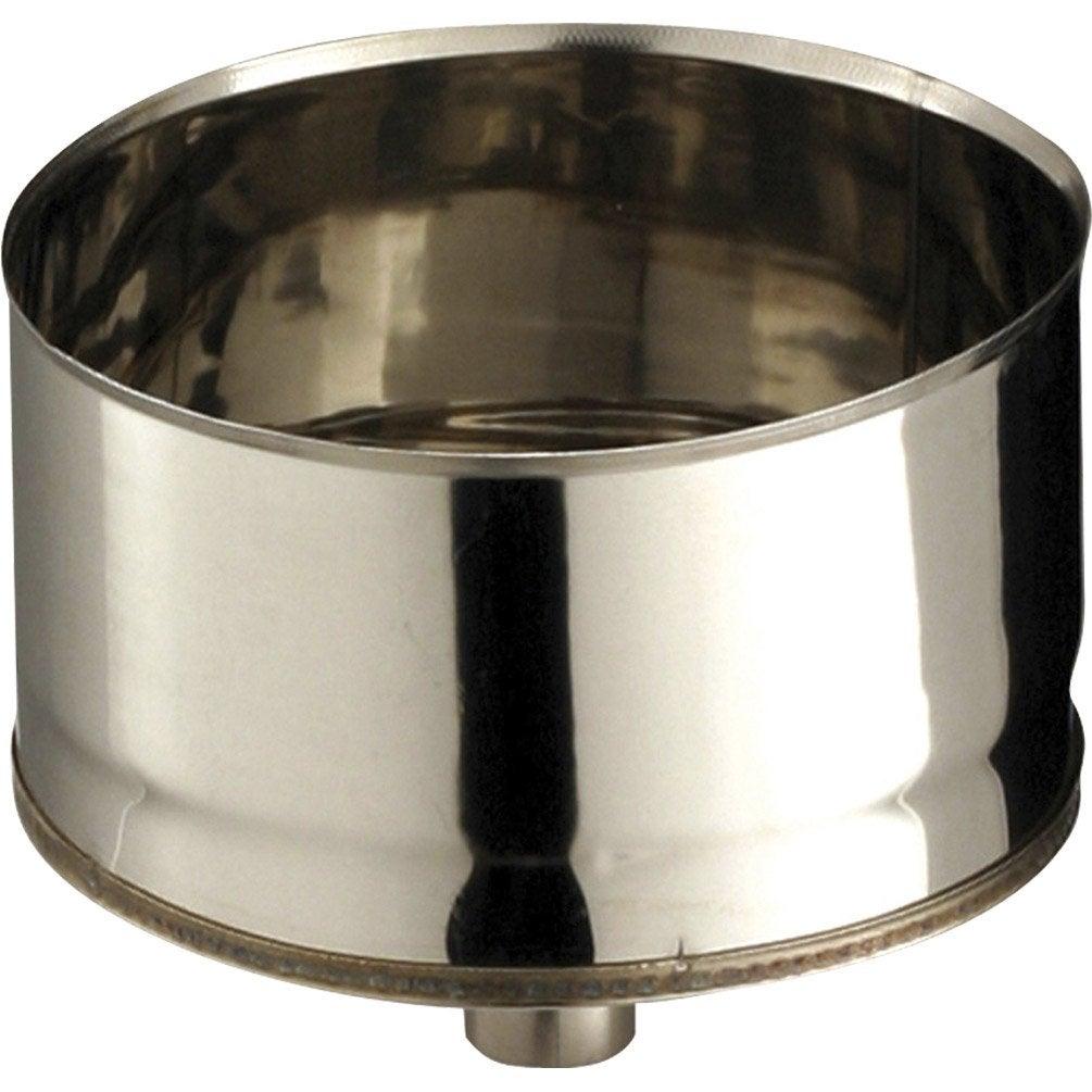 cone de purge pour raccordement poujoulat d 150 non peint cm leroy merlin. Black Bedroom Furniture Sets. Home Design Ideas