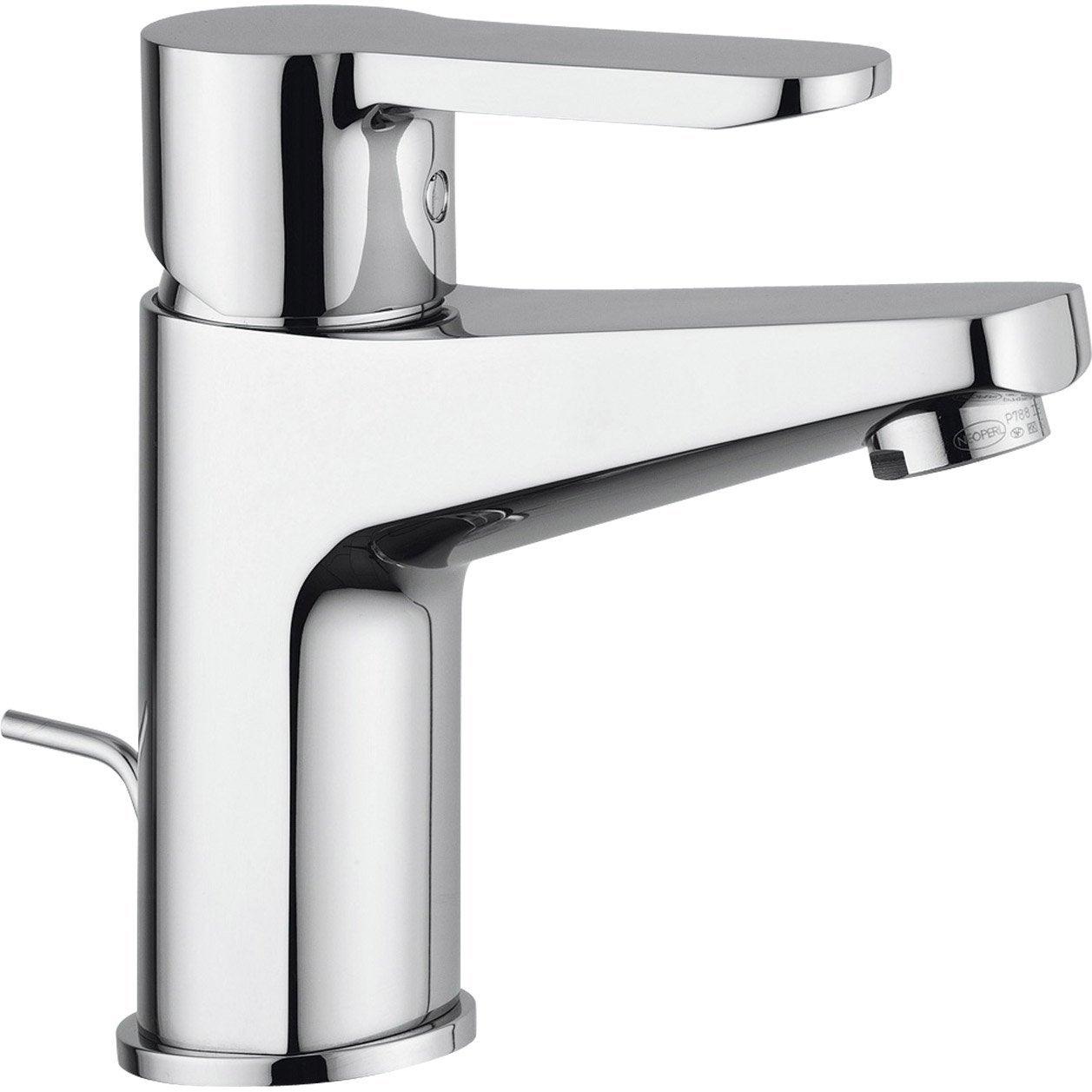 Mitigeur de lavabo bec bas nf medio chrom leroy merlin - Mitigeur lavabo leroy merlin ...