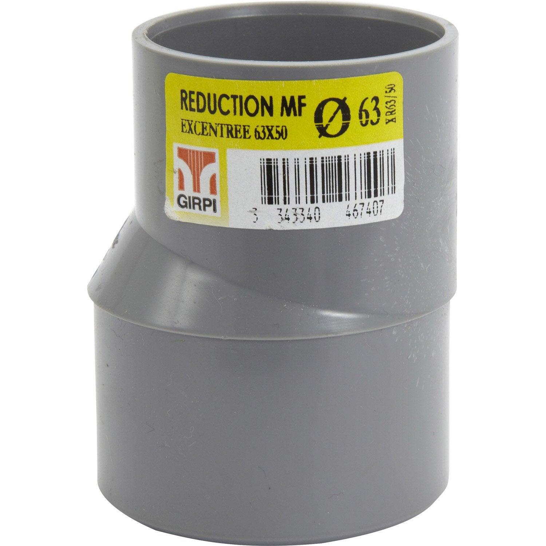R duction excentr e en pvc coller femelle m le d63 - Bon de reduction leroy merlin ...