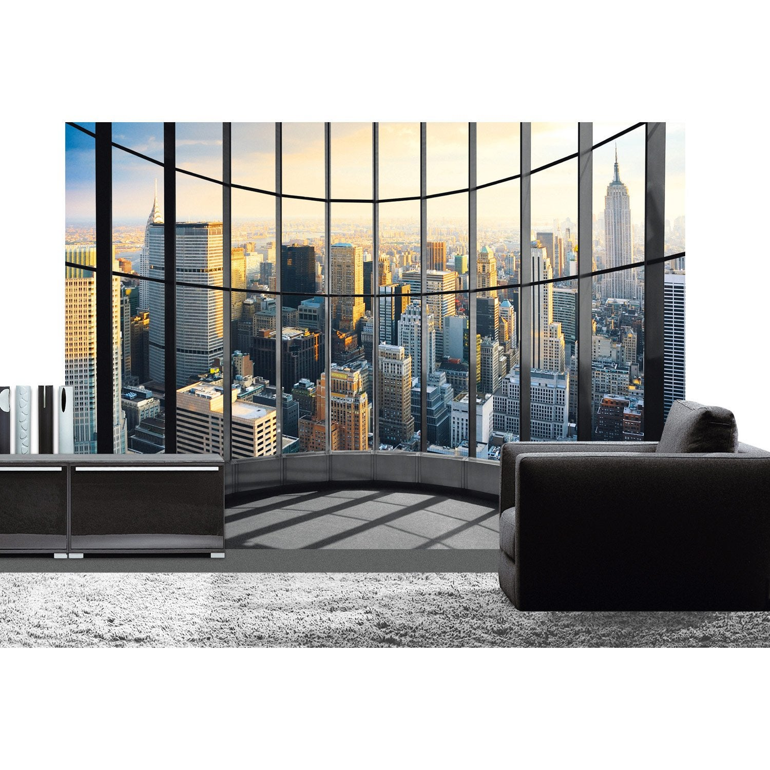 Poster xxl de mur office view deco wall x cm for Decoration murale geante new york