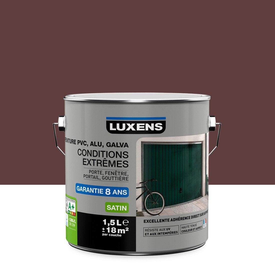 Peinture pvc alu galva ext rieur conditions extr mes for Peinture behr exterieur