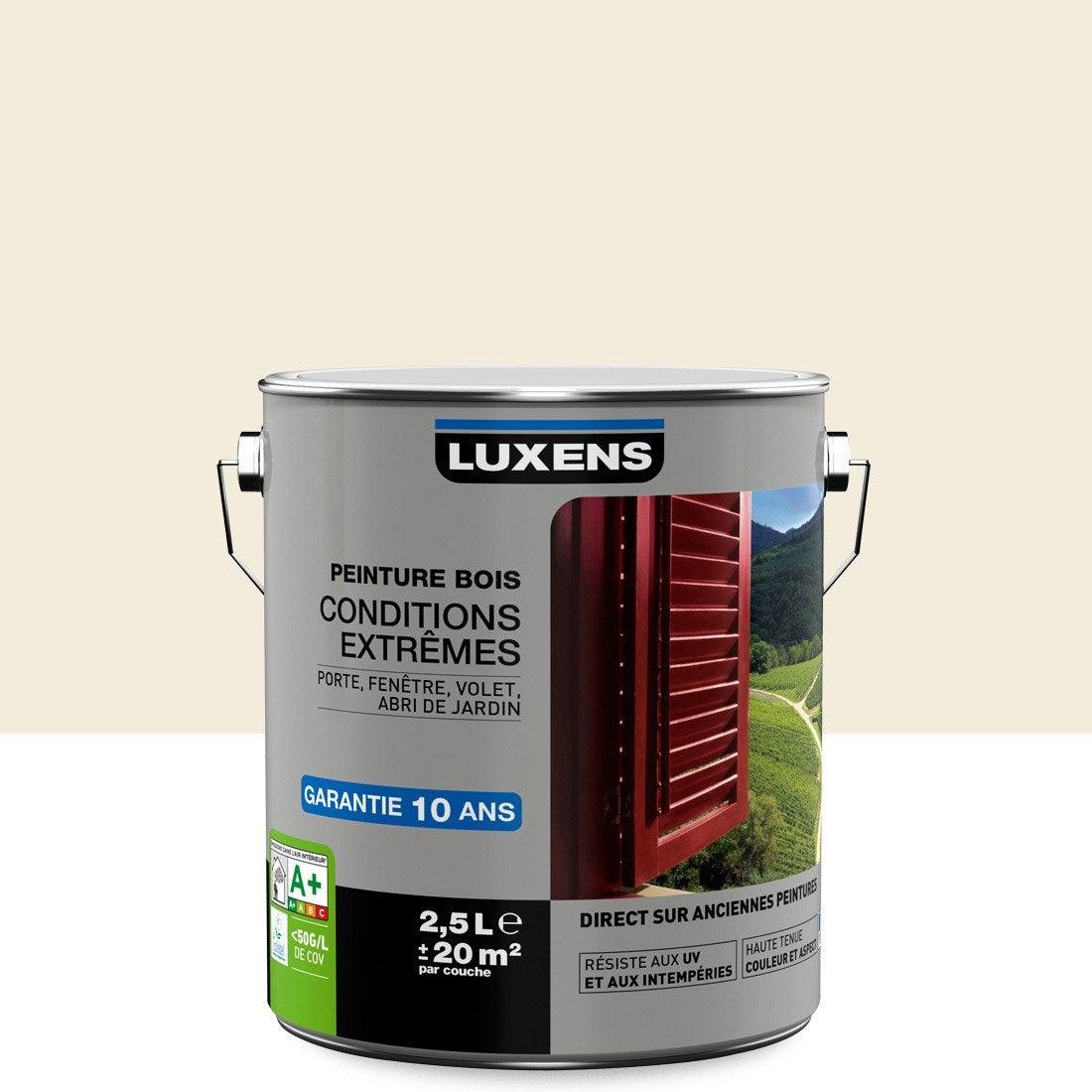 Peinture Bois Ext Rieur Conditions Extr Mes Luxens Blanc