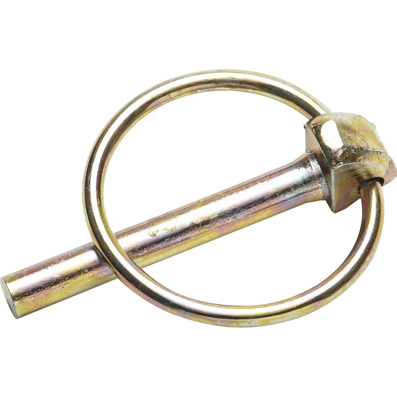 Goupille clips acier standers diam 5 5 mm leroy - Barre acier leroy merlin ...