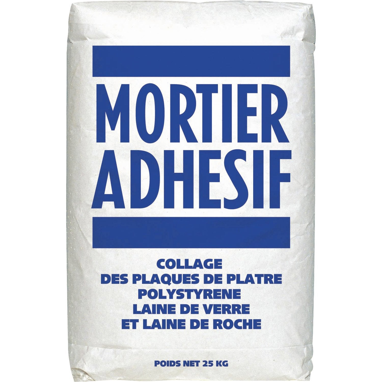 Mortier adh sif facilis 25 kg leroy merlin for Coller des plaques de polystyrene au plafond