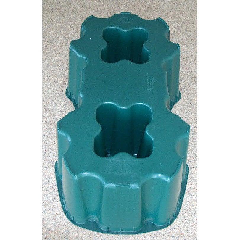 Socle pour cuve eau rectangulaire vert 520 l garantia - Cuve a eau leroy merlin ...