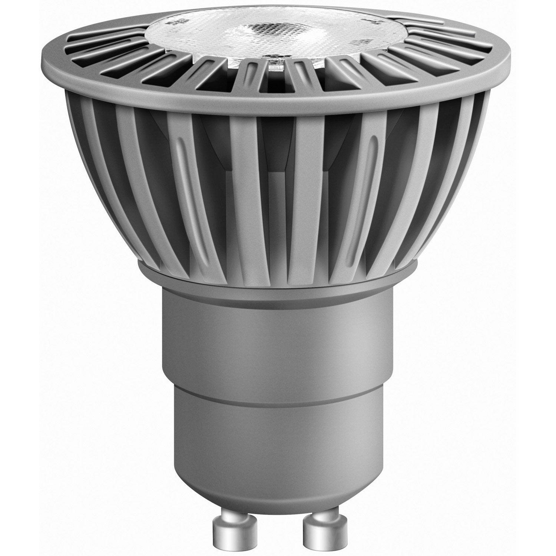 ampoule r flecteur led 5w osram gu10 lumi re douce env. Black Bedroom Furniture Sets. Home Design Ideas