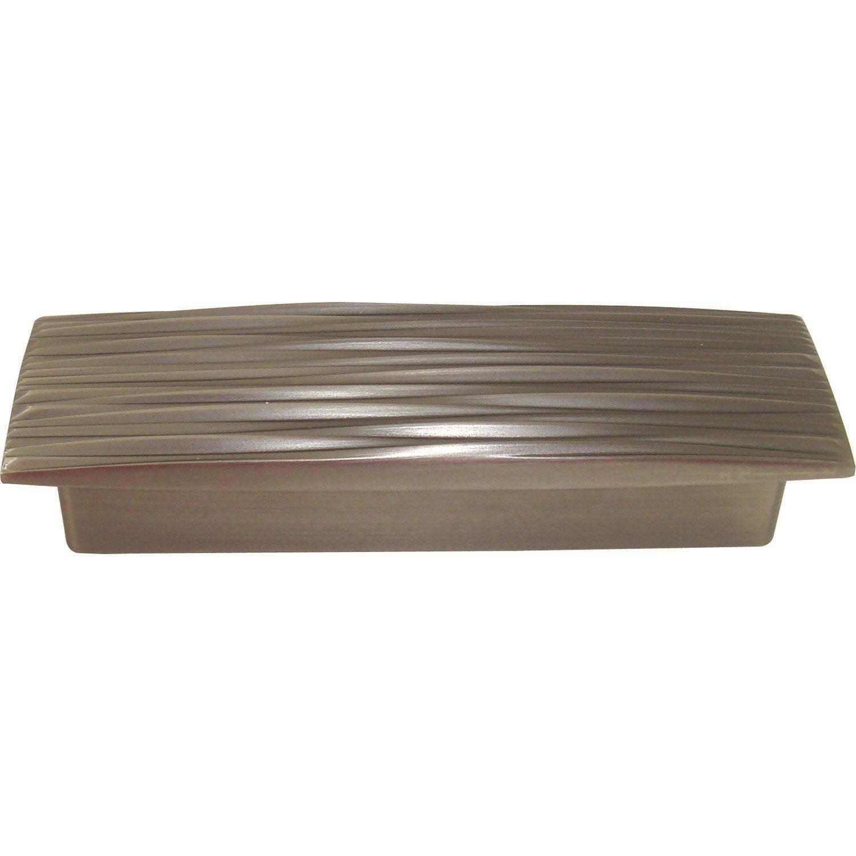 poign e de meuble uranus laiton brillant entraxe 110 mm leroy merlin. Black Bedroom Furniture Sets. Home Design Ideas