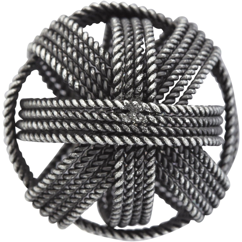 bouton-de-meuble-twist-acier-mat Meilleur De De Leroy Merlin Parasol Des Idées