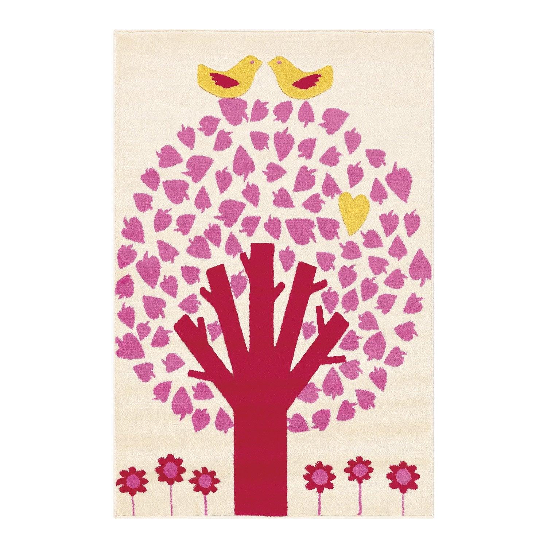 Tapis multicolore enfant velours arbre x cm leroy merlin - Arbre lumineux leroy merlin ...