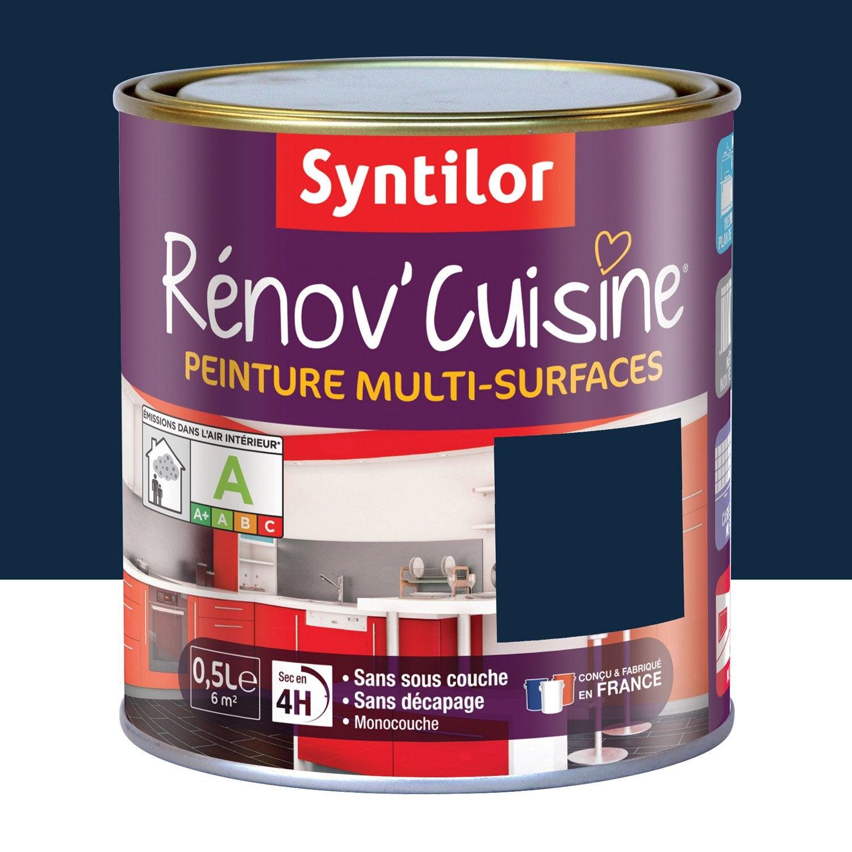 Peinture r nov 39 cuisine syntilor violet myrtille 0 5 l - Peinture ardoise magnetique leroy merlin ...