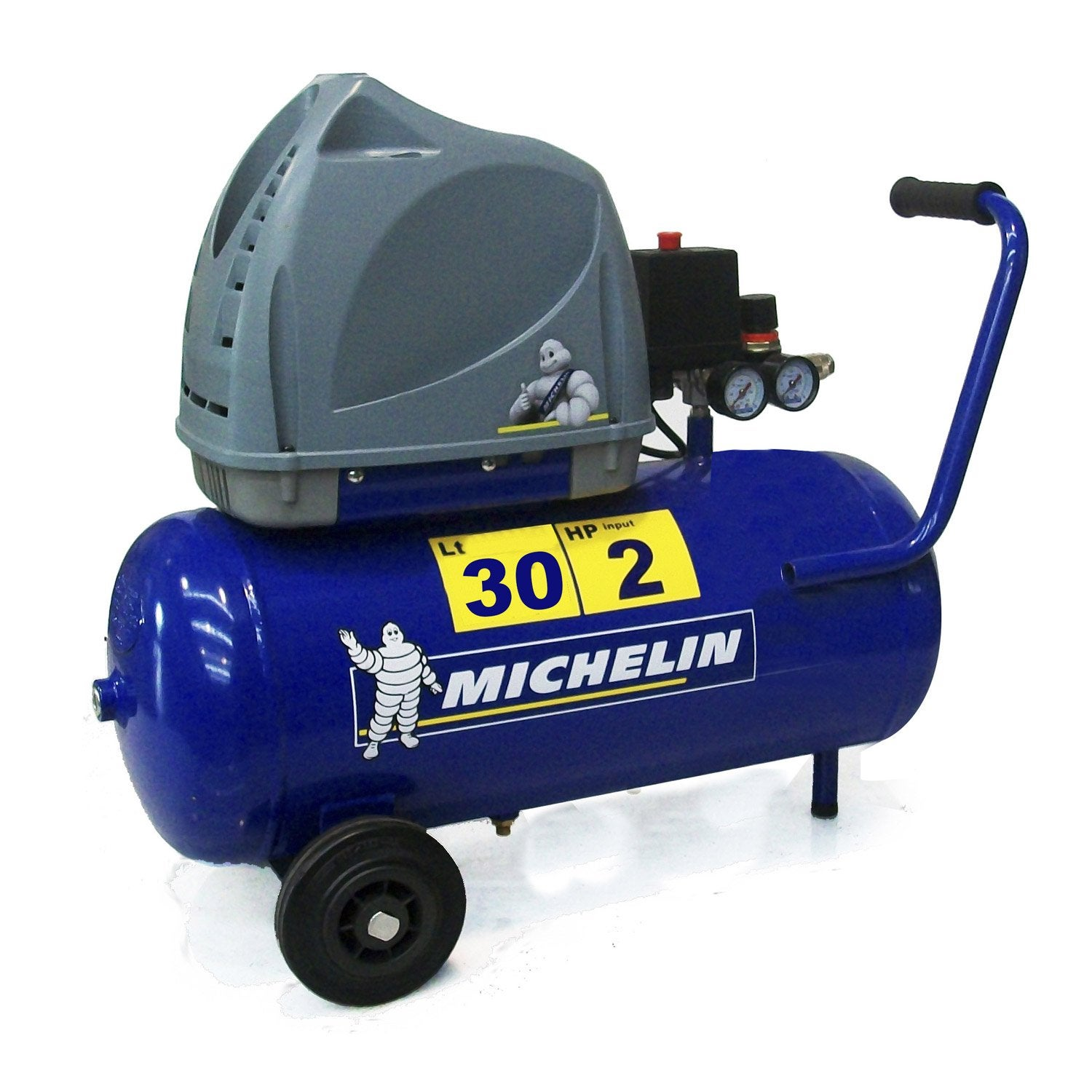 compresseur de chantier michelin 30 l 2 cv leroy merlin. Black Bedroom Furniture Sets. Home Design Ideas