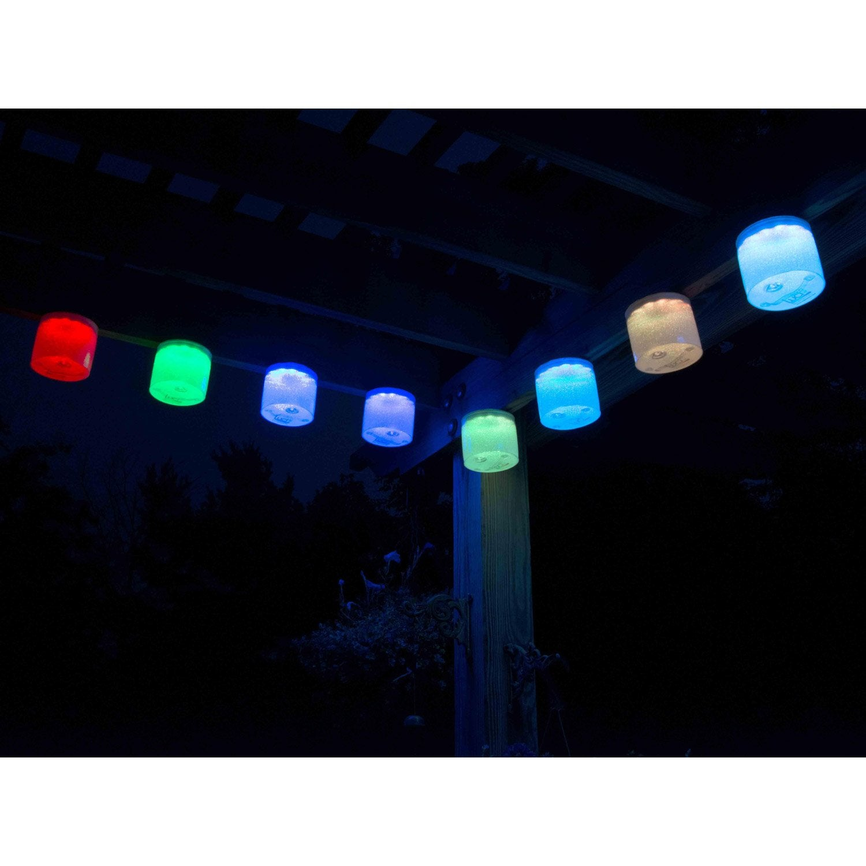 Lanterne solaire luci aura multicolore leroy merlin for Leroy merlin luci