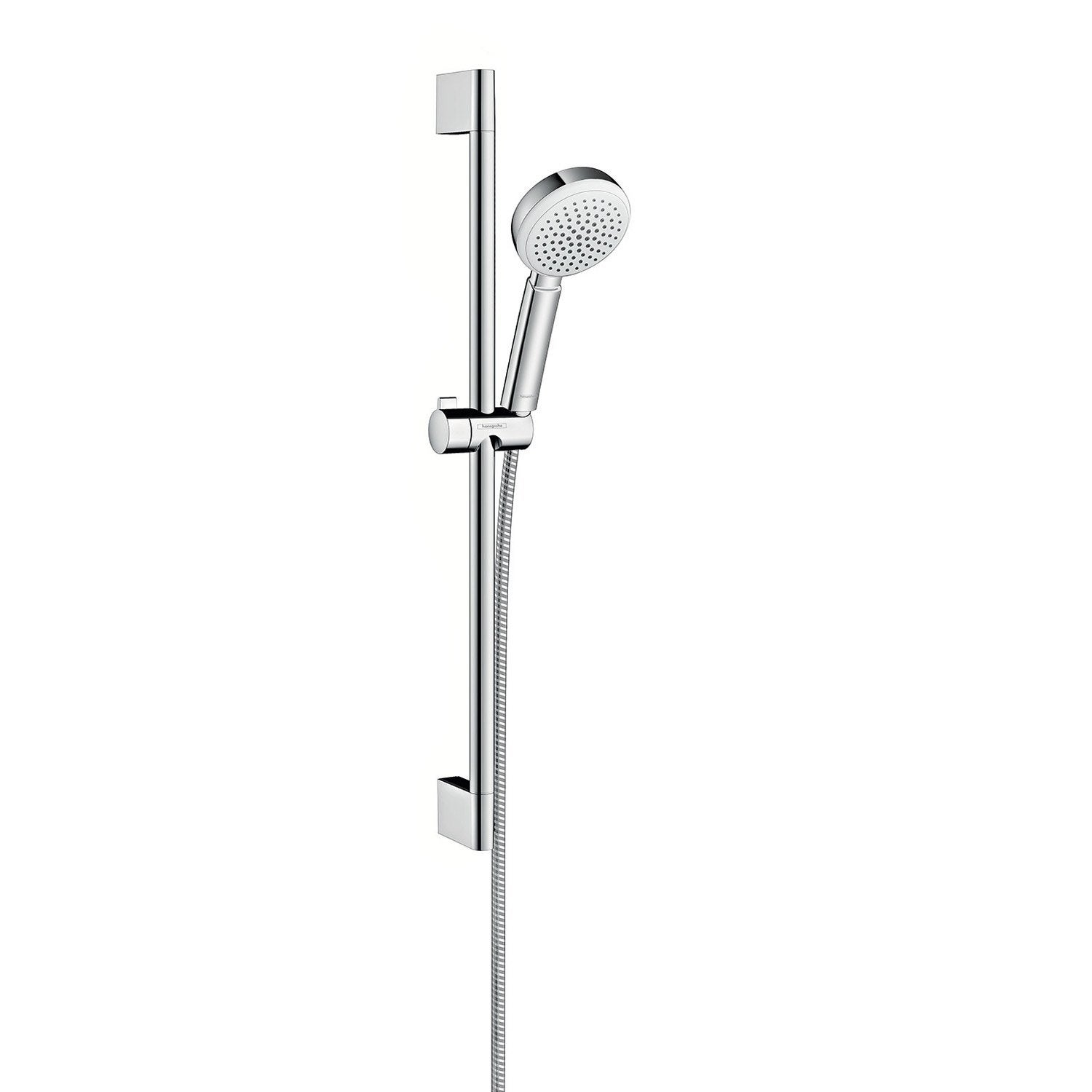 pommeau de douche 1 jet flexible barre hansgrohe myclub eco leroy merlin. Black Bedroom Furniture Sets. Home Design Ideas