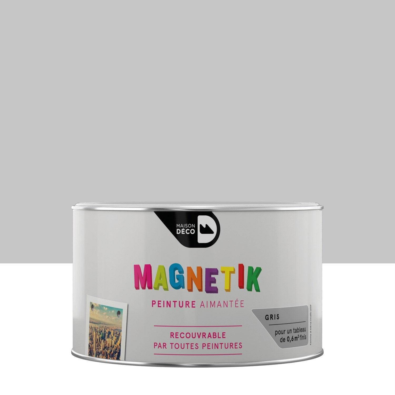 Peinture magn tique gris maison deco magn tik c 39 est g nial for Peinture maison deco