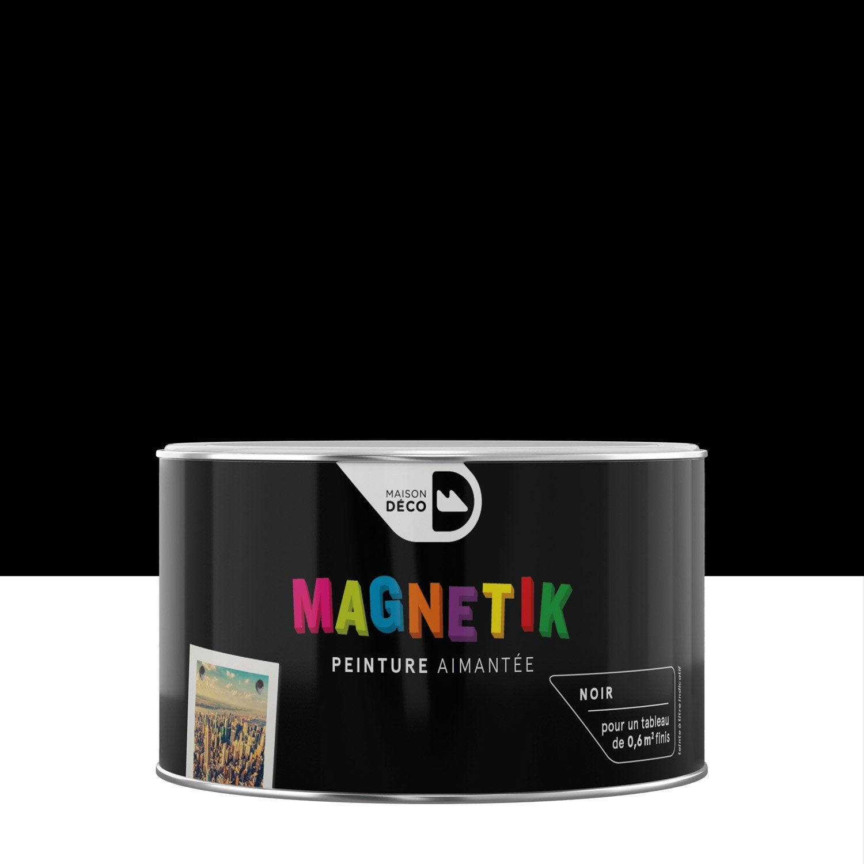 Peinture magn tique noir maison deco magn tik c 39 est g nial for Avantage carte maison leroy merlin