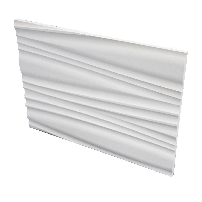 Plaquette de parement pl tre blanc gobi d sert leroy merlin - Plaque de platre exterieur ...