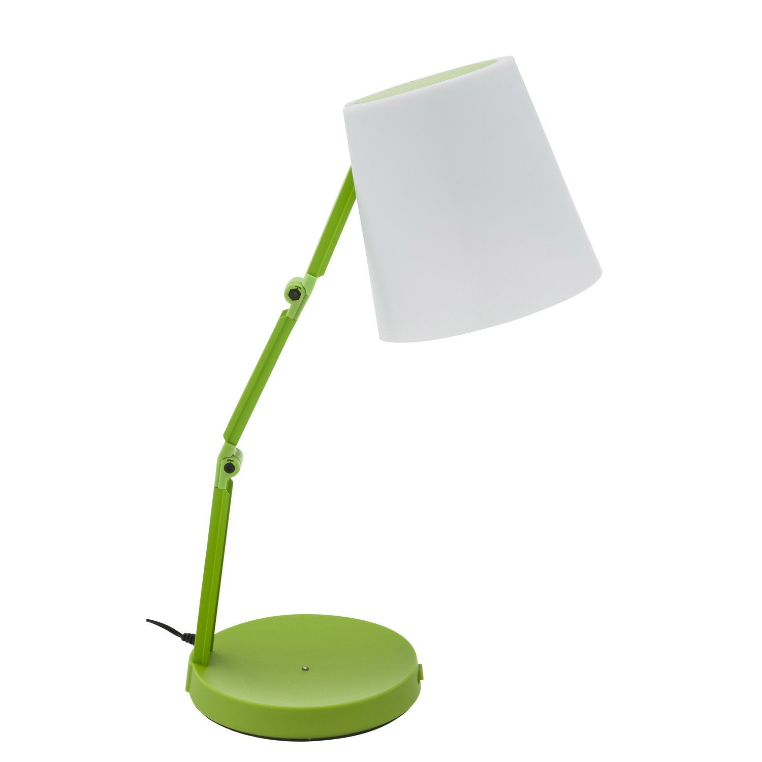 lampe de bureau poser vert led akimi inspire leroy merlin. Black Bedroom Furniture Sets. Home Design Ideas