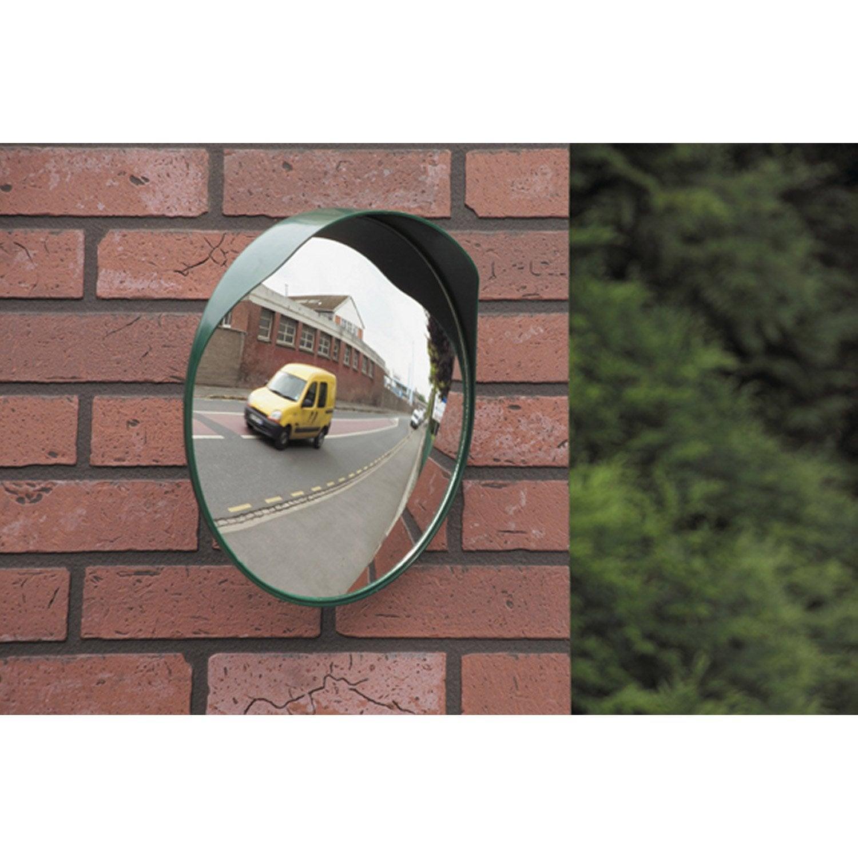 miroir de sortie convexe diam 30 cm distance de vision de 3 m leroy merlin. Black Bedroom Furniture Sets. Home Design Ideas