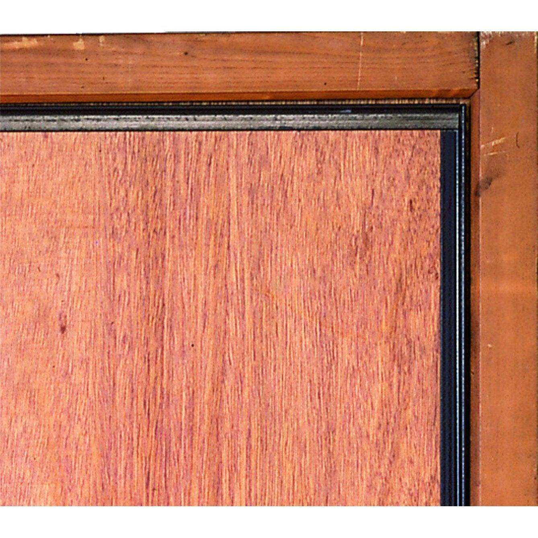 Corni re antipince pour porte afbat brun leroy merlin for Porte en fer pour garage
