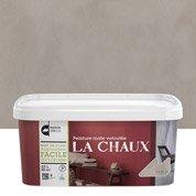 Peinture décorative, La chaux MAISON DECO, brun taupe, 2.5 l