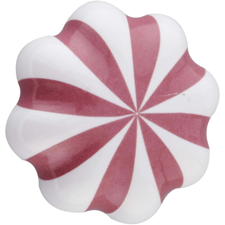 Bouton de meuble h l ne c ramique verni leroy merlin - Carrelage ceramique leroy merlin ...
