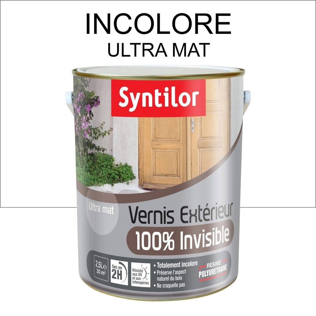 vernis ext rieur int rieur syntilor incolore aspect mat l leroy merlin. Black Bedroom Furniture Sets. Home Design Ideas