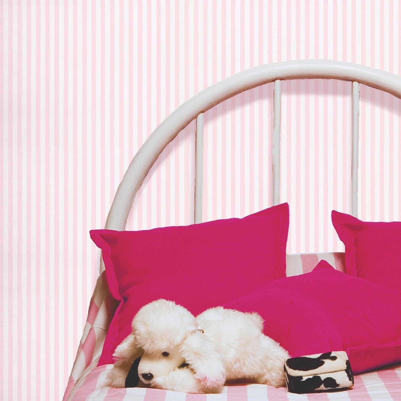 Papier peint papier rayure rose leroy merlin - Papier peint rose leroy merlin ...