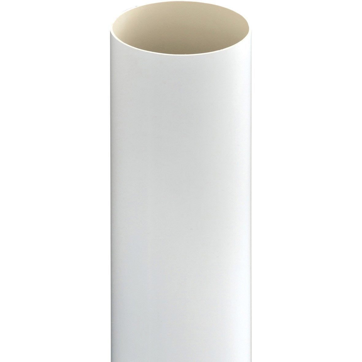 tuyau de descente pvc blanc mm l 4 m girpi leroy merlin. Black Bedroom Furniture Sets. Home Design Ideas