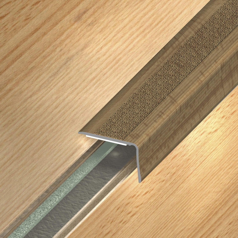 nez de marche aluminium rev tu d co d cor ch ne x l 3. Black Bedroom Furniture Sets. Home Design Ideas