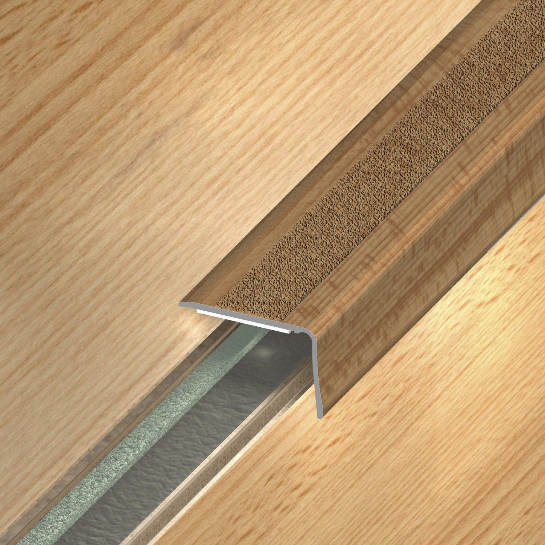 nez de marche adh sif dinac d cor h tre 36 x 24 95 cm leroy merlin. Black Bedroom Furniture Sets. Home Design Ideas